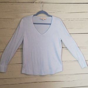 Loft Baby blue sweater